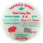Sonaco Tapicoa Sheets (BT Deo Tray) for Spring Rolls and Egg Rolls 22cm 越南菱粉米纸 570g