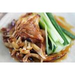 Vegetarian Pancakes with Mushrooms in Hoisin Sauce / 纯素煎饼