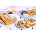 You Tiao Filled With Squid: Fried Dough Stick