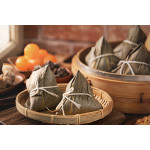 Zongzi: Rice Dumplings Filled with Pork and Salted Egg Yolks