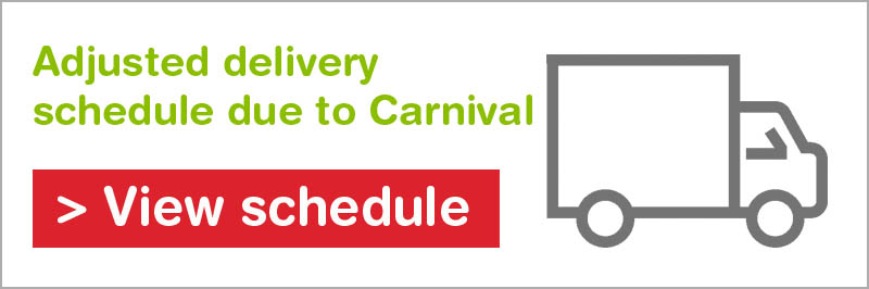 Banner of Carnival schedule