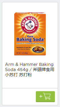 Screenshot van baking soda