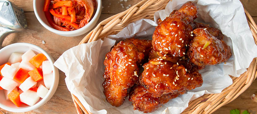 Foto van chicken wings