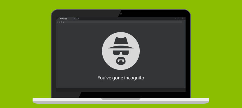 Image of an incognito window